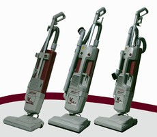 Portable Vacuum Cleaners offer 14 and 17 in. sweeping widths.