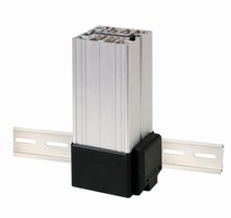 Compact Fan Heaters are DIN rail mountable.