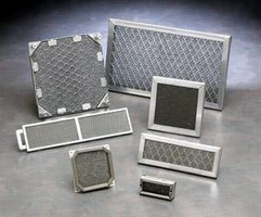 Vent Panel offers fire-spread safety for electronics chassis.