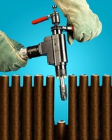 Welding End Prep Tool Fits between Small Boiler Tubes