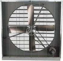 Cabinet Mount Panel Fan features aluminum gravity shutter.
