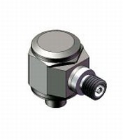 Accelerometer is suited for low mass applications.