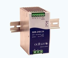 Switching Power Supplies provide 240 W of output power.