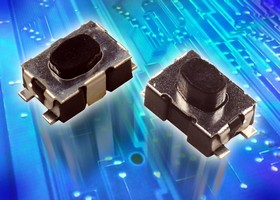 Tactile Switches offer life span of 300,000 cycles.