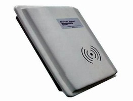 UHF RFID Reader offers long read range of up to 15 m.