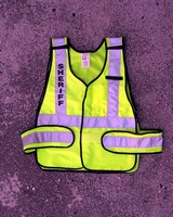 Public Safety Vests meet ANSI specifications.