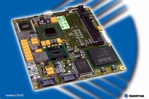 Computer-on-Module features 45nm Intel® Atom(TM) processor N270.