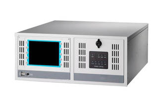 Industrial Workstation features 5.7 in. VGA TFT LCD.