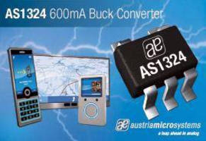 DC-DC Buck Converter supplies 600 mA for low output voltages.