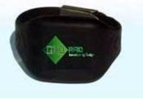 RFID Wristband Tag is designed for localization of personnel.