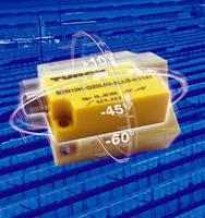 Dual Axis Inclinometer Sensor detects angular tilt.