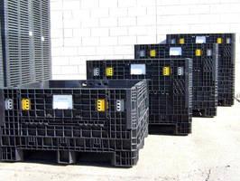 Triple Diamond Plastics Launches New 45x48x50 Collapsible Bin