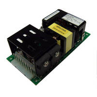 Open Frame Power Supply has power density of 5.3 W/cubic in.