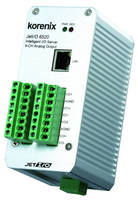 Ethernet I/O Server supplies 4-channel analog output.
