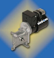 Gearmotors have left, right, or dual output shaft.