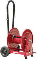 Hose Reel Carts feature side mount design.