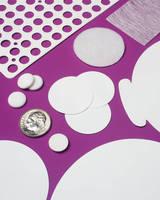 Membrane Filters are custom die-cut.