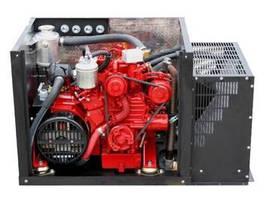 Industrial Diesel Generator provides 5.5 kW of power.