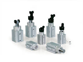 Pneumatic Stopper Cylinders feature magnetic piston.