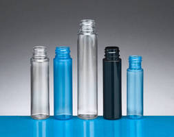 Slim Round PET bottles are available in 5 sizes.
