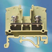 Terminal Block features nickel-plated screws and washers.
