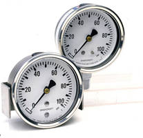 Pressure Gauge meets severe service requirements.