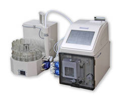 Mercury Analyzer has color touch panel screen.