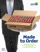 "New ""Made to Order"" Program Lets Contractors Purchase C&I Wiring Devices in Custom Configurations"
