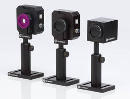Laser Beam Profiling Cameras cover UV and IR spectral range.