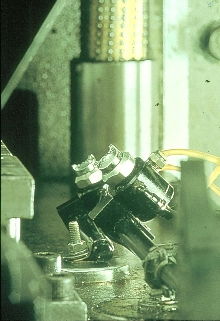 Lubrication System extends die life.