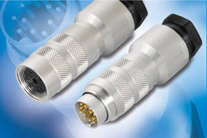 DIN Connectors are available with PG11 cable outlet.