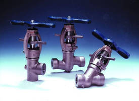 Valves are available in sizes ranging from ½-4 in.