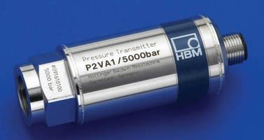 Pressure Transmitter has measuring range of 100-5,000 bar.