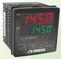 Temperature Controller has easy-to-read dual display.