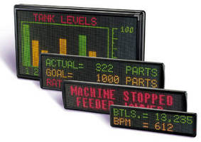 LED Displays are readable at distances up to 600 ft.