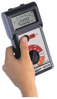 Insulation and Continuity Testers have CATIII 600 V rating.