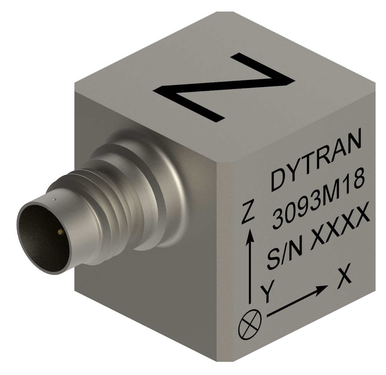 Miniature Accelerometer features IEEE 1451.4 TEDS.