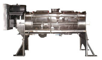 Jacketed Vacuum Dryer has easy-to-clean design.