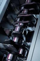 Crankshaft Gage aids 100% inspection of critical tolerances.