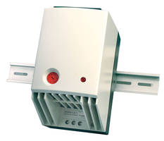 Enclosure Fan Heater has DIN Rail mountable design.