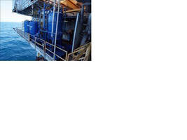 Oil/Water Separation Unit suits offshore oil/gas industry.