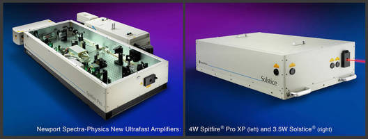 Laser Amplifiers suit advanced scientific applications.