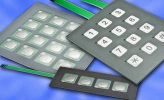 Membrane Switch Keypads operate at temperatures of 5-122°F.