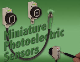 Photoelectric Sensors come with dual LED indicator.