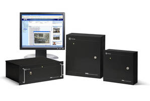 Access Control System provides IP-based security solution.