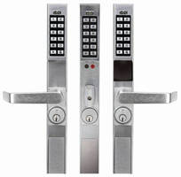 Keypad Locks offer programmable access control.