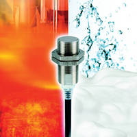 Inductive Proximity Sensor suits food and beverage industries.
