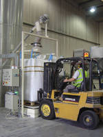 Bulk Bag Filler allows for filling bags by weight.