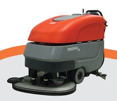 Walk-Behind Floor Scrubber covers up to 45,208 sq ft/hr.