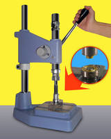 Bench Top Grommet Press features spring-assisted stroke.